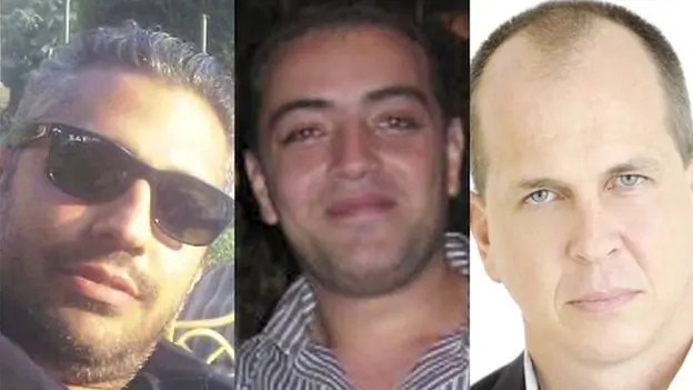 Al Jazeera personnel Peter Greste, Mohamed Fahmy and Baher Mohamed have been detained