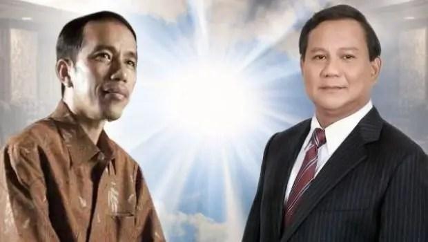 Jokowi and Prabowo