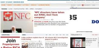 Malaysiakini screenshot