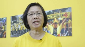 Slapped with travel ban, Bersih leader gives prize acceptance speech - via video