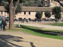 Circus Maximus - A demonstration getting itself ready
