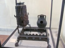 Domestic equipment from Pompeii