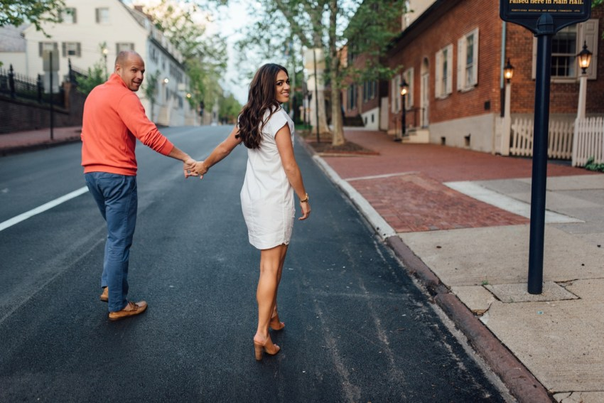 Cameron + Adam - Bethlehem Engagement Session - Pennsylvania Wedding Photographer - Alison Dunn Photography photo