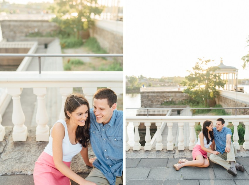 Jess + Chuck - Waterworks Engagement Session - Philadelphia Wedding Photographer - Alison Dunn Photography photo-4