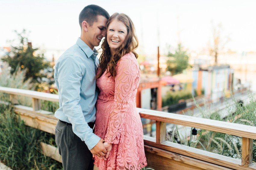 Rachel + Taylor - Spruce Street Harbor Park - Old City Philadelphia Engagement Session - Alison Dunn Photography photo