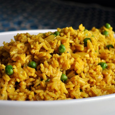 Indian Rice - A Little And A Lot