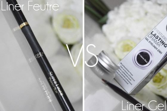gel liner vs eyeliner feutre who 39 s the best a little b blog beaut. Black Bedroom Furniture Sets. Home Design Ideas