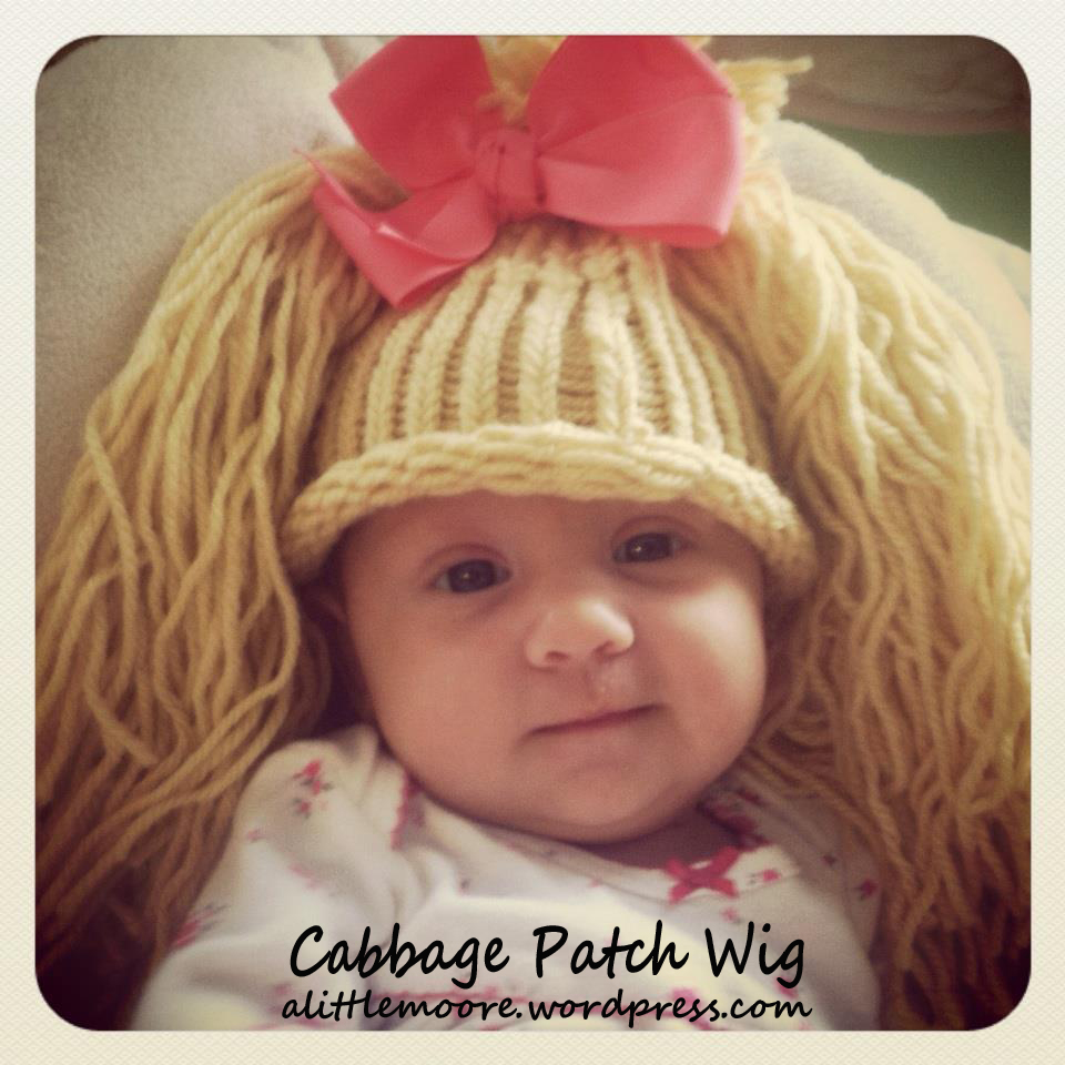 Cabbage Patch Wig - A Little Moore