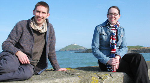 Niamh O Riordan and Malachy Harty pictured here in Ballycotton, Co Cork, prior to their departure on the All About Africa project