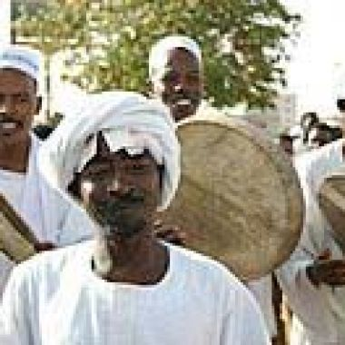 Sufi dancer in Sudan