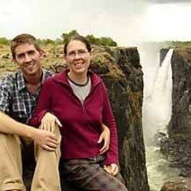 Niamh O Riordan Victoria Falls, Zimbabwe