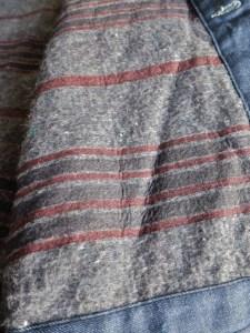 Blanked Lined Denim