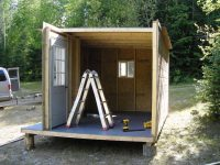 Assembly of remote camp