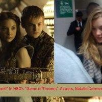 "Actress Natalie Dormer calls me ""rude"""