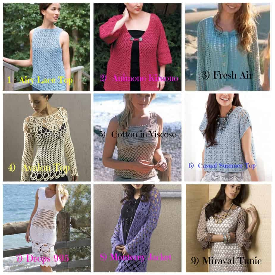 Crochet Patterns Plus Size : Crochet Womens Garments Archives - Page 2 of 2 - All Crafts Channel