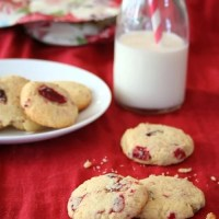 Cranberry Ginger Butter Cookies - Low Carb and Gluten-Free