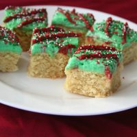 Holiday Sugar Cookie Bars - Low Carb and Gluten-Free