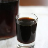 Homemade Coffee Liqueur - Sugar-Free