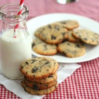 Coconut Chocolate Chip Cookies - Low Carb and Gluten-Free