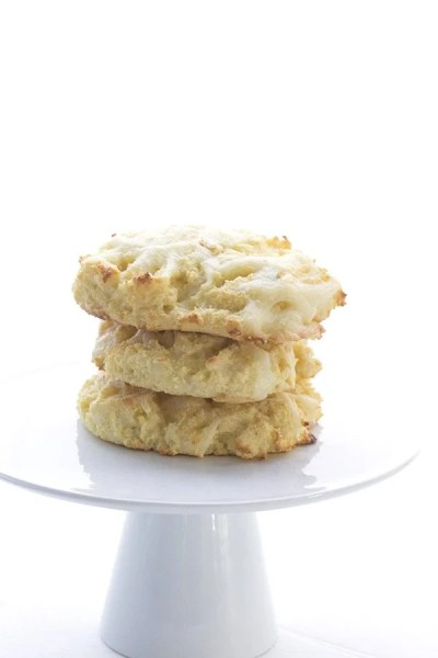 Low Carb Drop Biscuits Recipe | All Day I Dream About Food