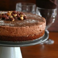 Chocolate Hazelnut Mousse Cake - Low Carb and Gluten-Free