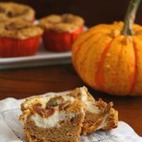 Pumpkin Cream Cheese Muffins - Low Carb and Gluten-Free