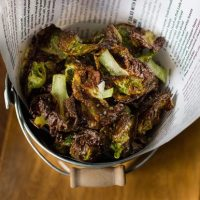 Brussels Sprouts Chips - Low Carb and Gluten-Free