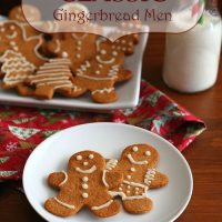 Classic Gingerbread Men - Low Carb and Gluten-Free
