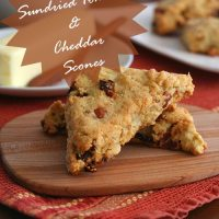 Bacon, Sundried Tomato And Cheddar Scones - Low Carb and Gluten-Free