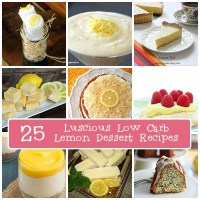 25 Luscious Low Carb Lemon Desserts