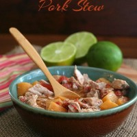 Slow Cooker Southwestern Pork Stew