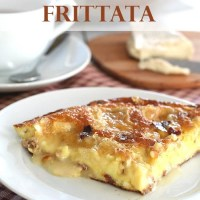 Bacon & Brie Frittata and a KitchenAid Cookware Review