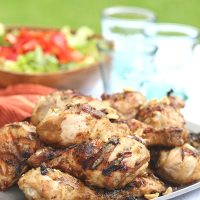 Thai Peanut Grilled Chicken