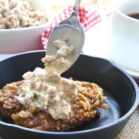Chicken Fried Steak with Country Gravy - Primal Low Carb Kitchen Review