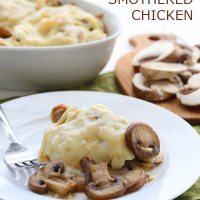 Mushroom & Gruyere Smothered Chicken