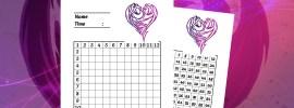 Free printable Disney Descendants multiplication tables! Disney math worksheets at All Day Mom!