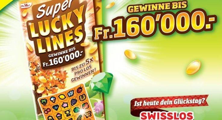 Gewinne bis zu CHF 160'000.-