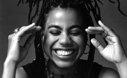 Suzan-Lori Parks in a moment of joy