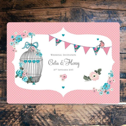 Medium Of Tea Party Invitations