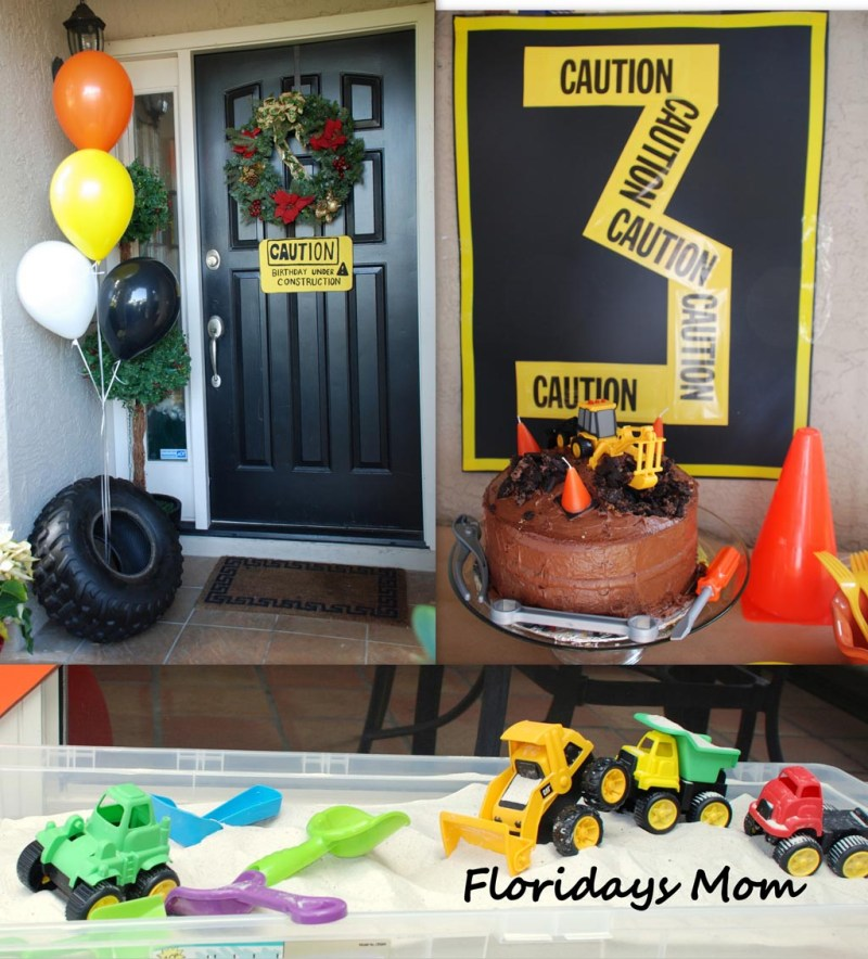 Large Of Construction Birthday Party