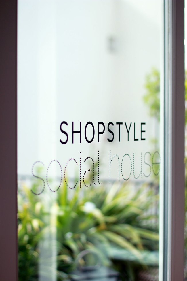 As I mentioned earlier this week I attended the Shop Style Social House event in Paris. I went to the one in NYC and so I was super excited to attend the event in Paris