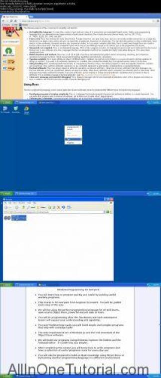 Windows Programming Video Tutorial for Everyone Screenshot