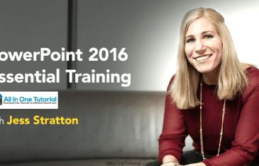 PowerPoint 2016 Essential Training Screenshot-AllInOneTutorial.com