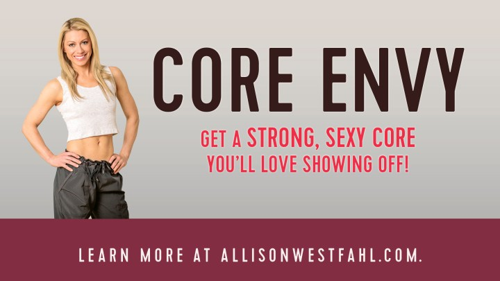 Core Envy videos Allison Westfahl