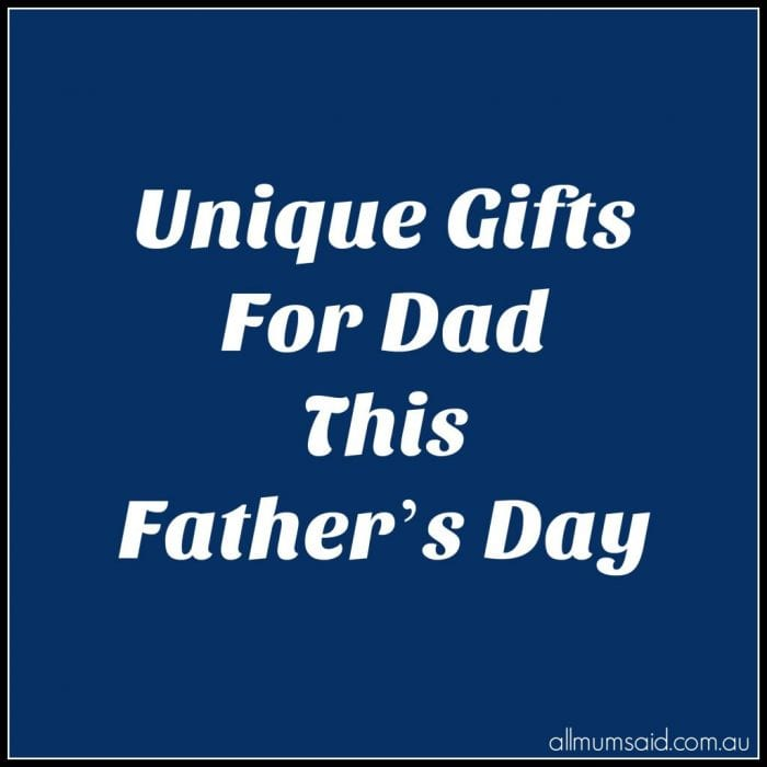 Unique Gifts For Dad This Father's Day