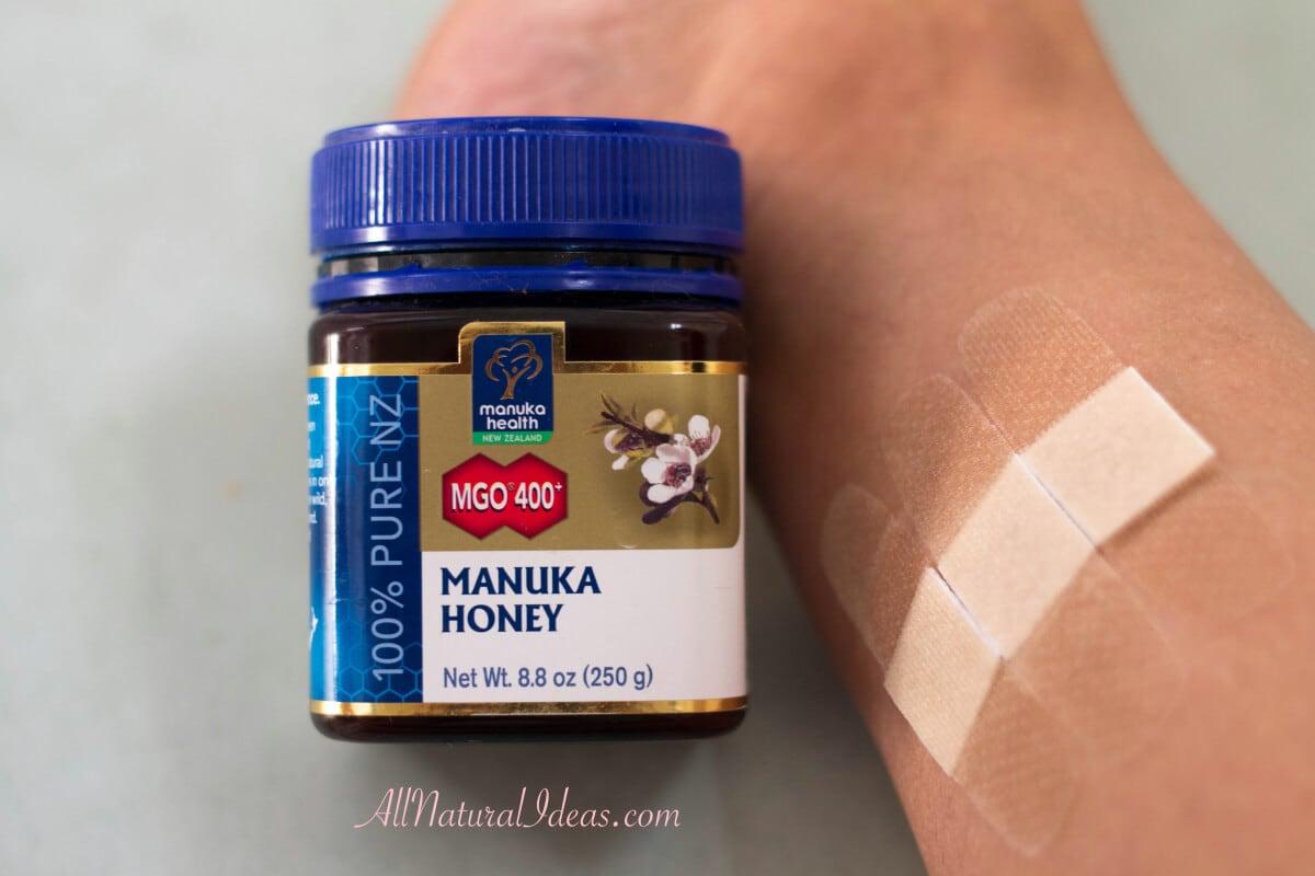 Manuka wound honey