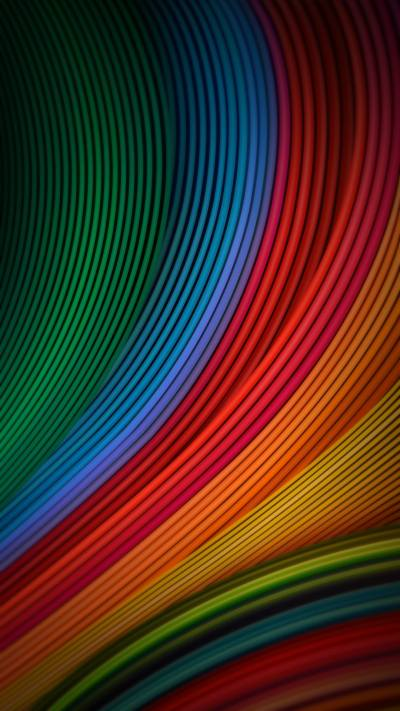 Cool Phone Wallpapers 06 of 10 with Colorful Waves for for Xiaomi Redmi Note 4 Background - HD ...