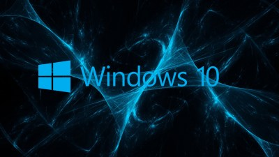07 of 10 Abstract Windows 10 Background and Logo with Blue Grunge - HD Wallpapers | Wallpapers ...