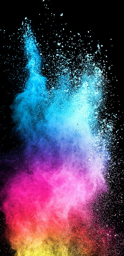 Abstract Colorful Powder with Dark Background for Samsung Galaxy S9 Series Wallpaper | HD ...