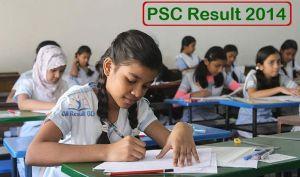 PSC Result 2014